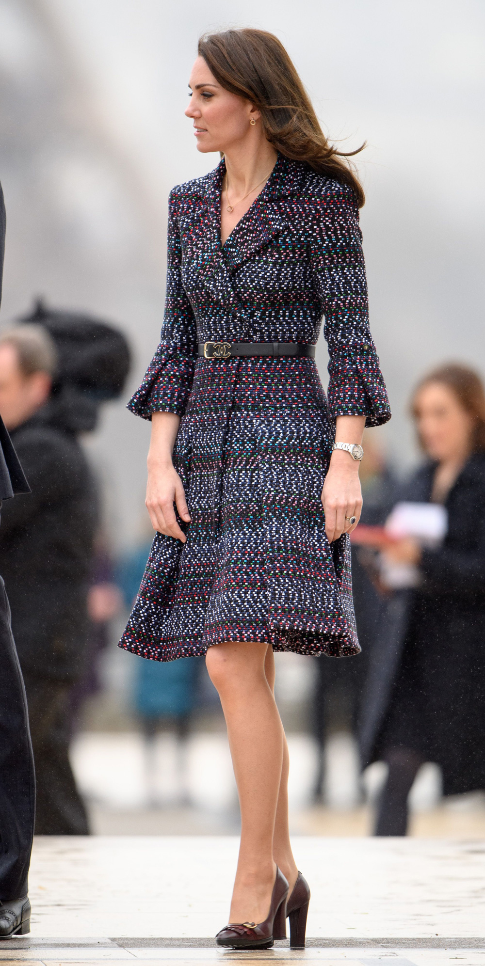 Kate Middleton Wearing Chanel on Day Two of Her Visit to ...
