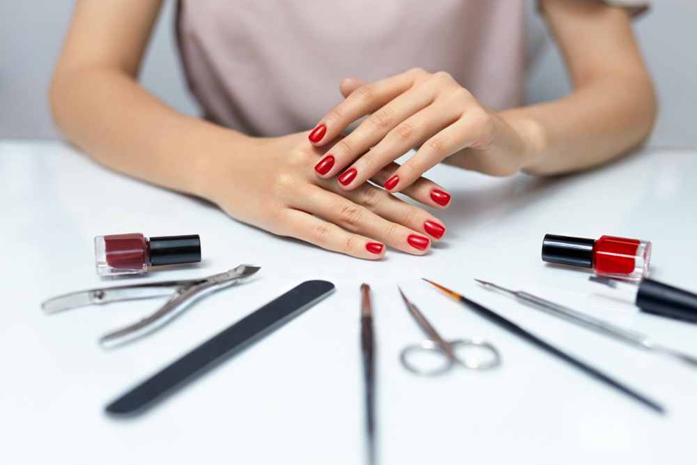 11 steps to make a diy manicure look salon perfect during eid find out the secrets you need to know to give yourself a salon quality manicure from perfect application and wiping out mistakes to making it last as long solutioingenieria Image collections