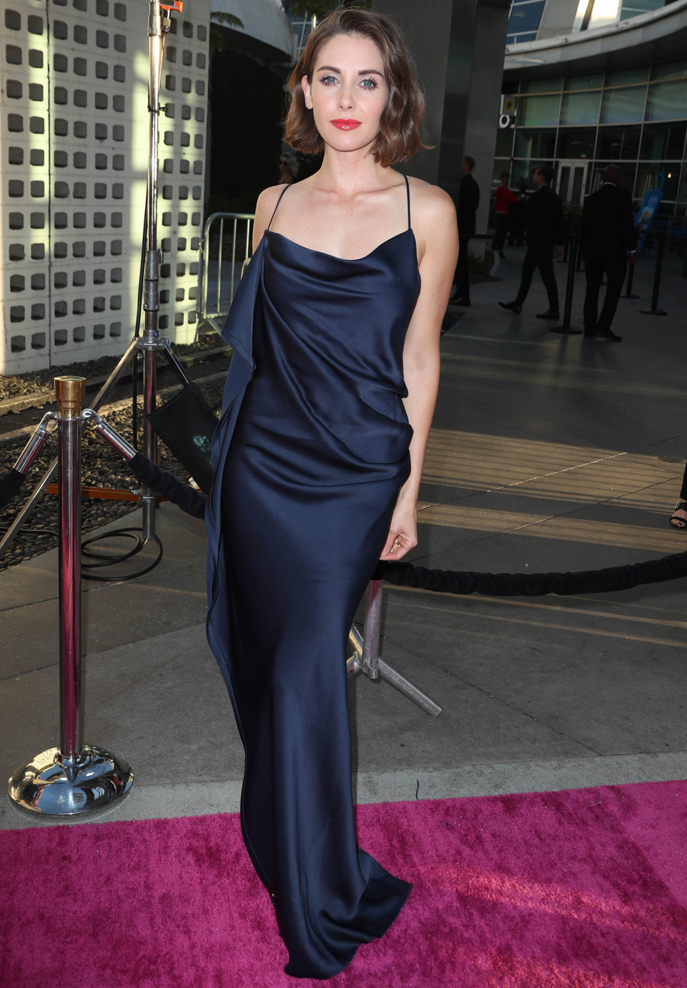 Alison Brie in Custom Jason Wu Gown for Glow TV Show Premiere ...