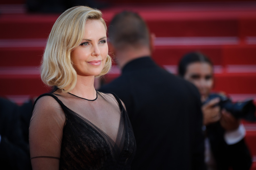 Charlize Theron is certainly shining bright in 2017 d212a6ebf78