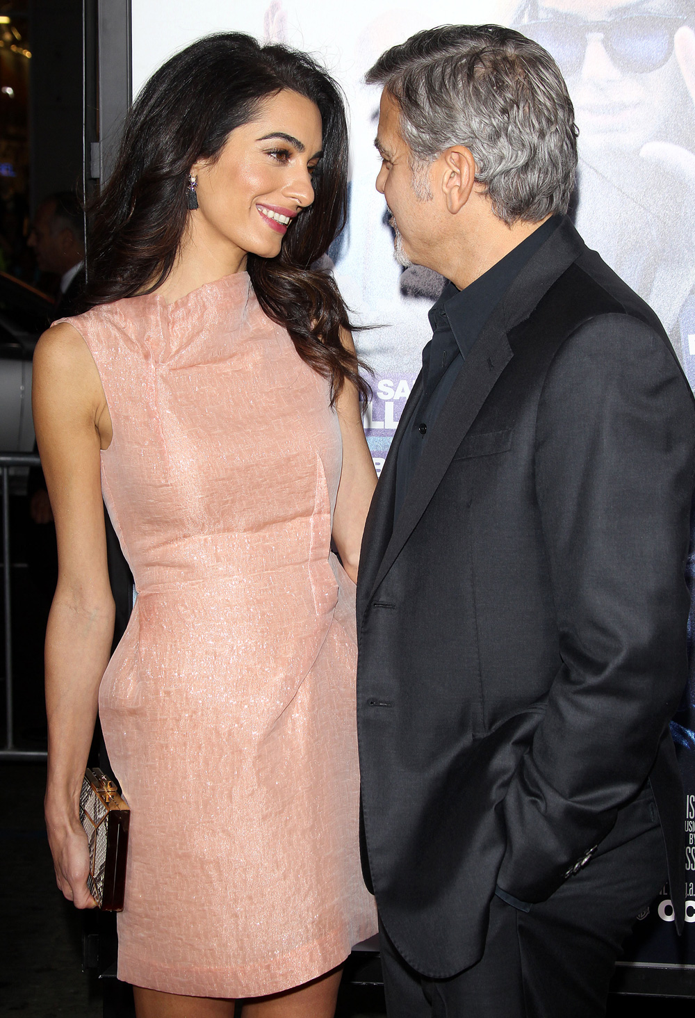 from Ariel george clooney started dating amal