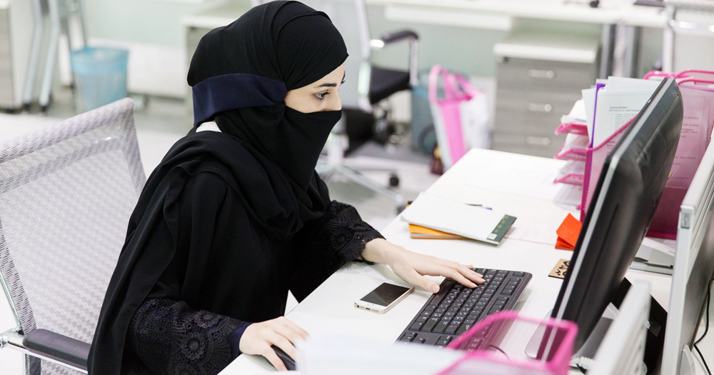 Female Job Seekers In Saudi Arabia Are Finding It Easier To Land A Job Thanks To A New Female Only Employment Board Naziha Deriche The Brains Behind The