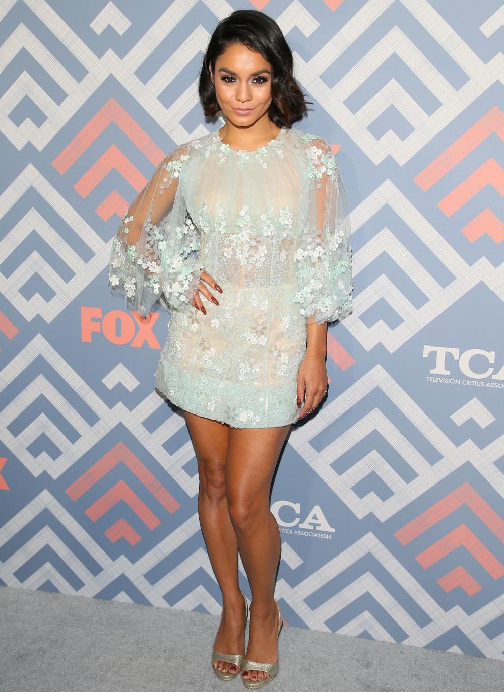 Vanessa Hudgens in Georges Chakra at the 2017 Fox Summer ...