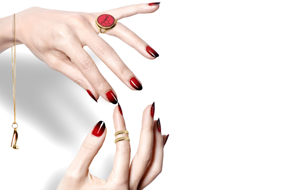 Get the Look: Rouge Louboutin Manicure | About Her