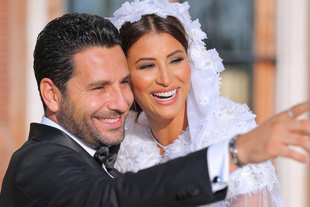 Rym Saidi Is A Vision In Her Georges Hobeika Wedding Gown