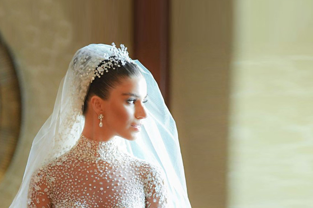 Lara Scandar Wears The Most Disney-Esque Of Wedding