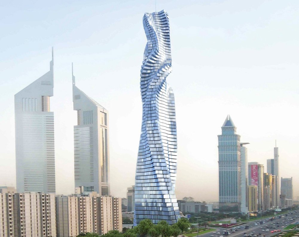 World S First Rotating Skyscraper Soon In Dubai About Her