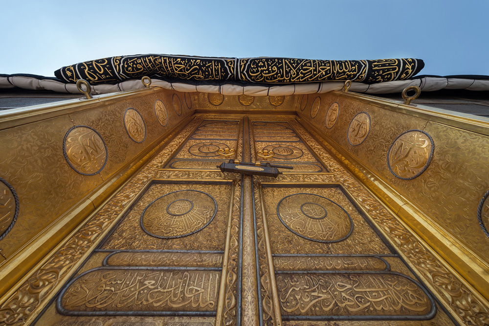 rare views of the holy kaaba in upcoming film about her