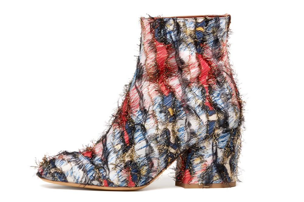 677c47ef39e Salvatore Ferragamo  Pisa 70  fringed multi-colour jacquard block heel boot
