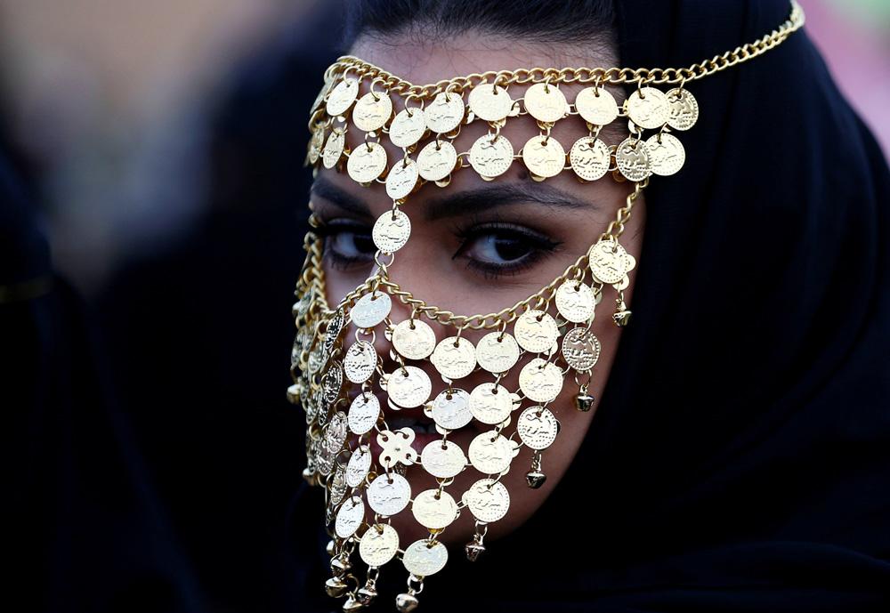Фото арабки в украшениях — pic 9