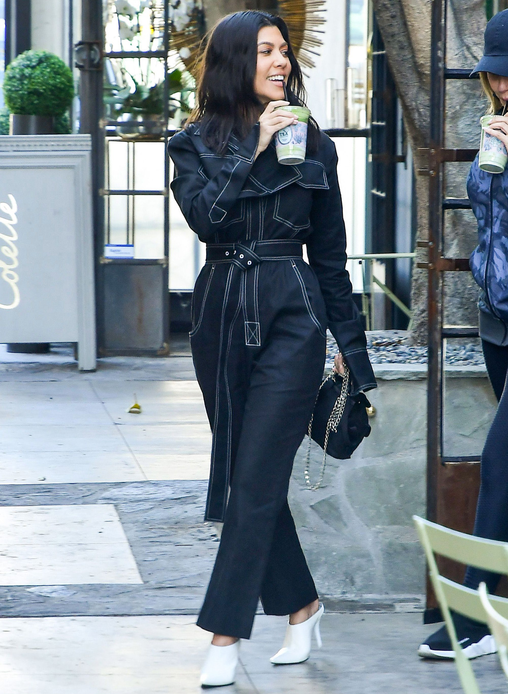 Kourtney Kardashian Out And About In Los Angeles About Her