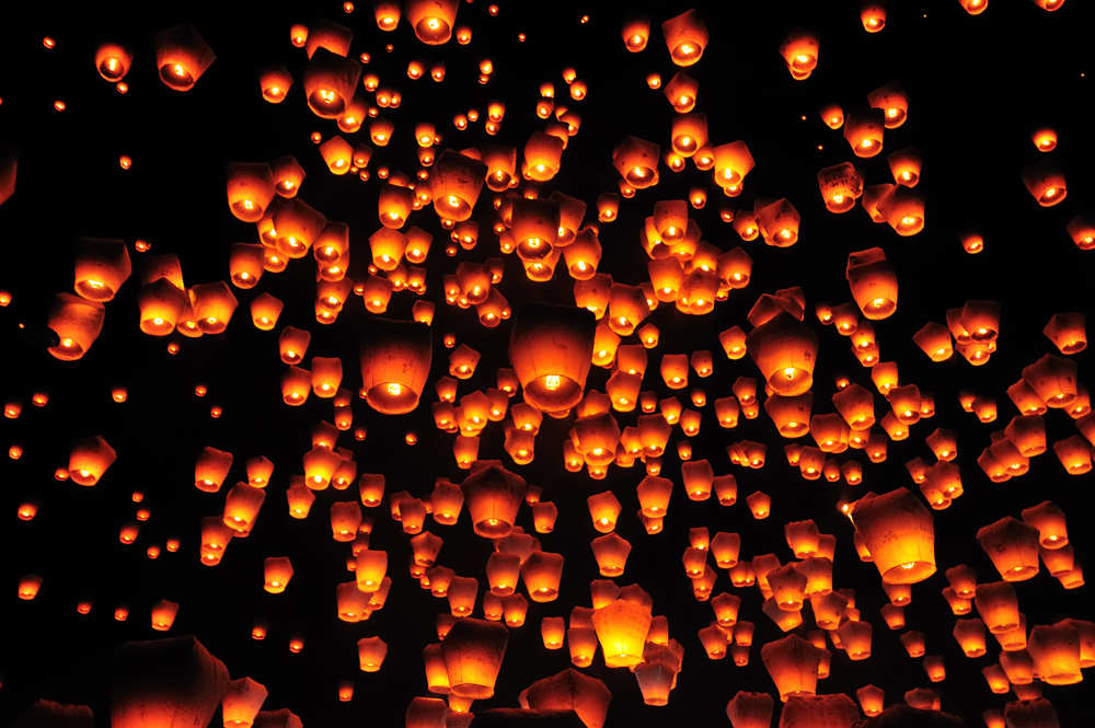 Why You Should Add The Pingxi Sky Lantern Festival To Your Travel Wishlist About Her