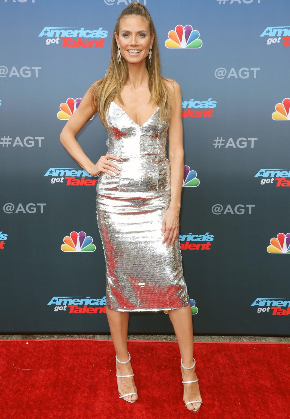 Heidi Klum At The America S Got Talent Tv Series Kickoff
