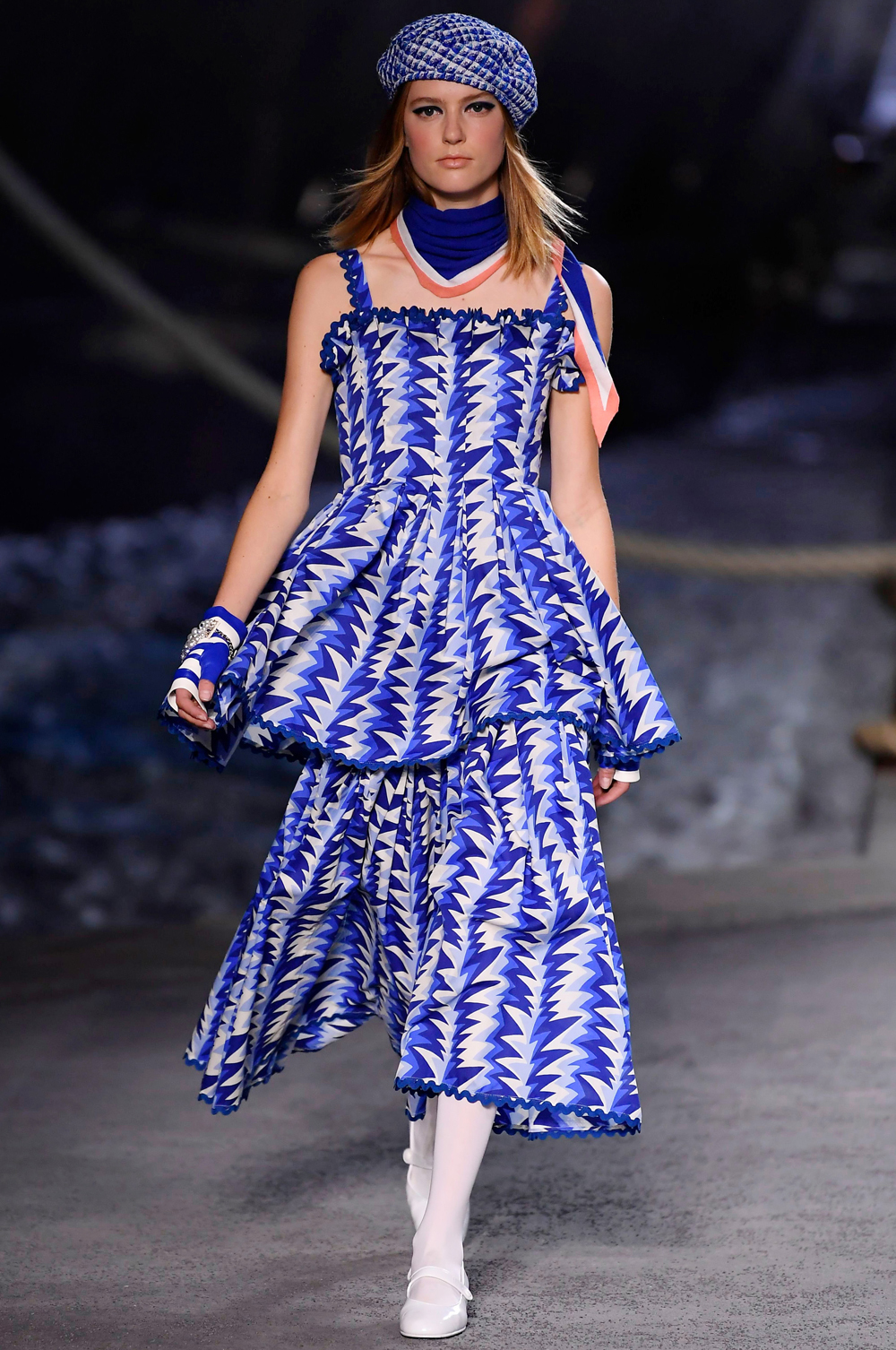 567fb384 Chanel's 2019 Cruise Show was Pure Nautical Magic | About Her