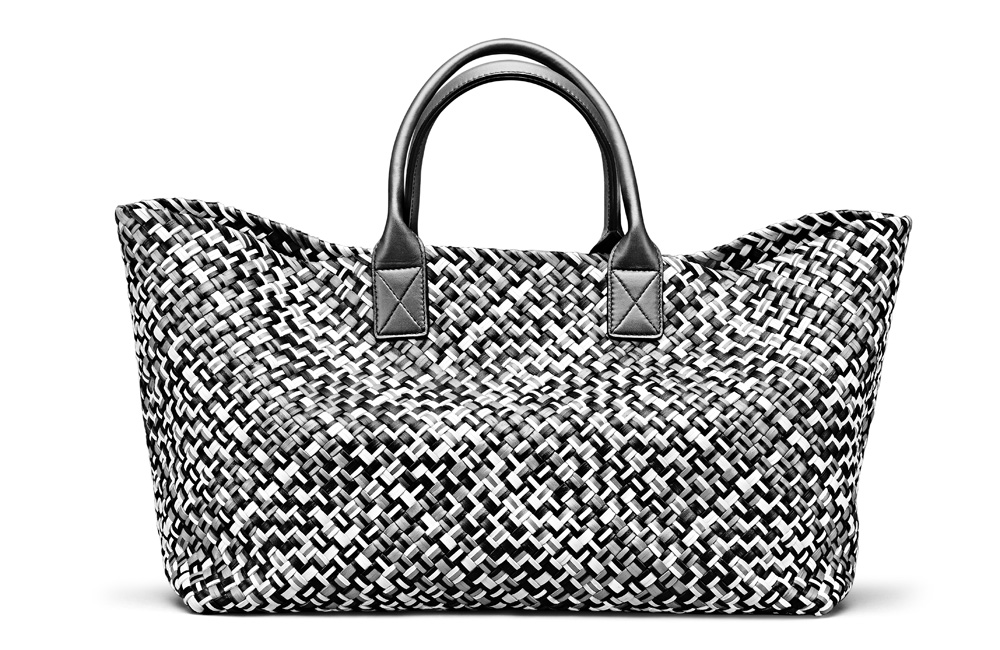 """The """"Cabat"""" was the very first bag designed by Creative Director Tomas  Maier when he joined the maison in 2001. The coveted bag features the  trademark ... 65134e6b013be"""