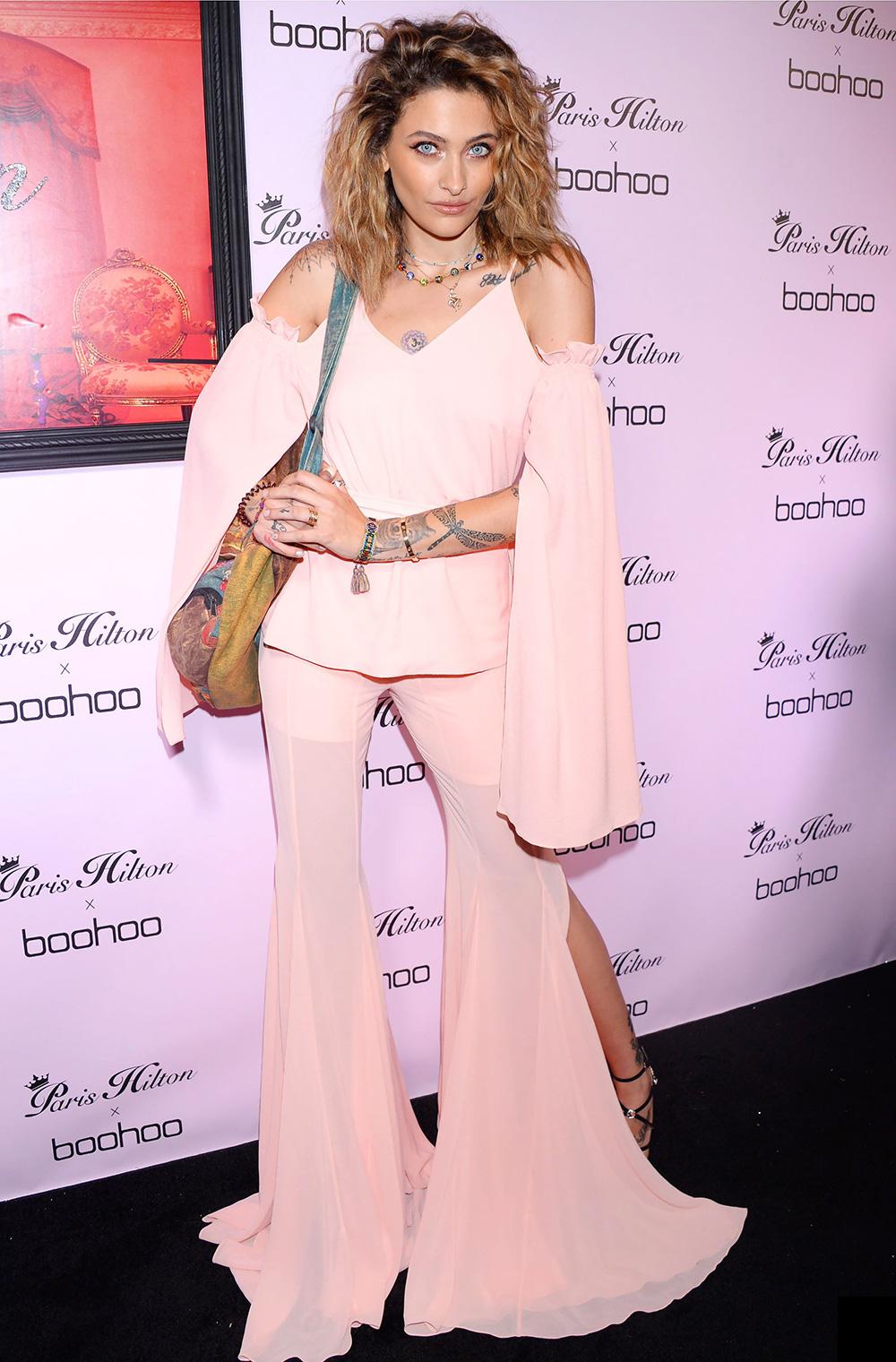 6d1a85cd148c Paris Jackson at the Boohoo x Paris Hilton Launch Party in Los Angeles