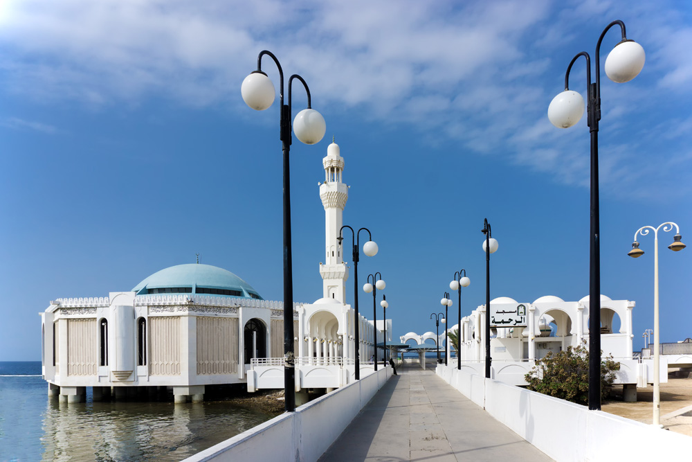 A Look at 4 of the Most Beautiful Mosques in Jeddah, Saudi