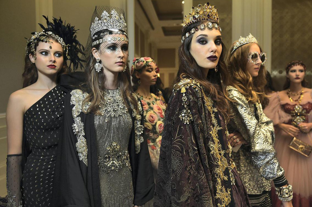 df66b1caeb367 Dolce   Gabbana has been showing appreciation for its Middle Eastern  customers for years with special capsule collections, but the Italian  luxury fashion ...