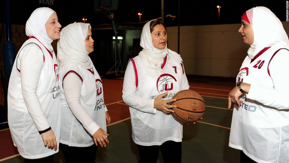 Lina Al Maeena with Jeddah United