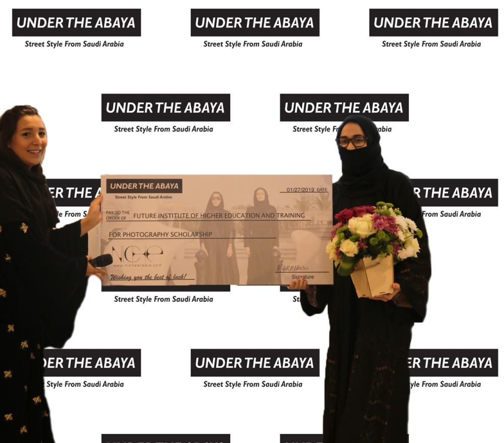 Saudi Female Photography Students Win One-Year Niche Design