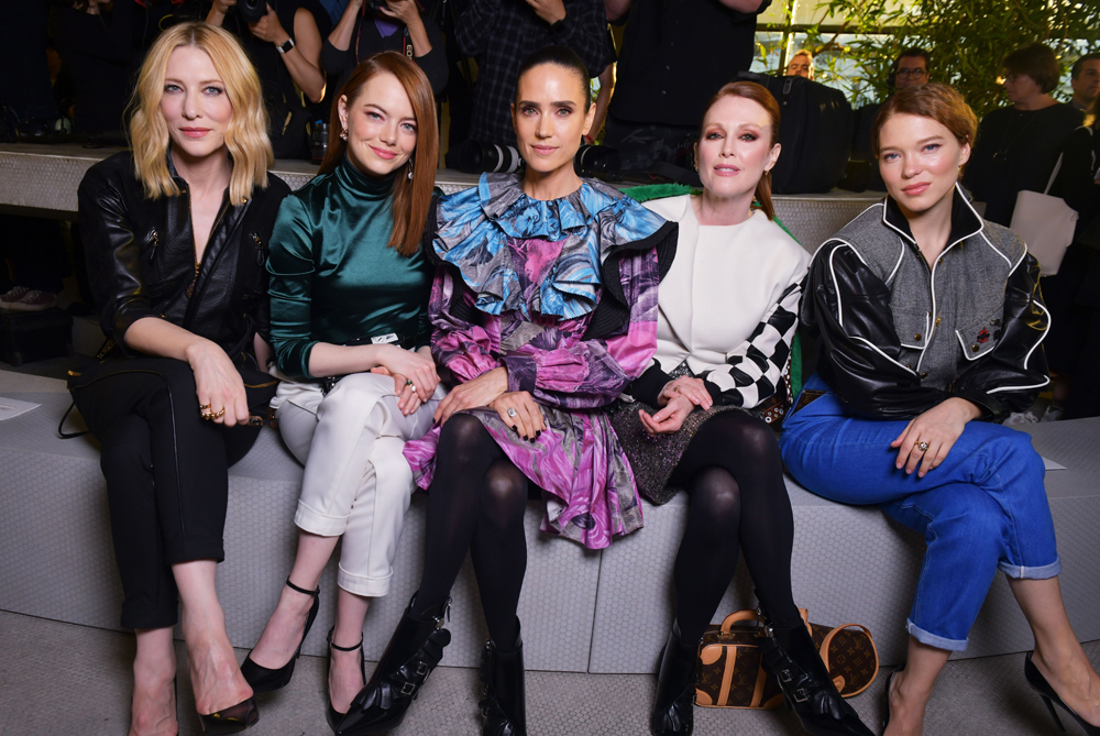 Best Show 2020.The Best Dressed Stars At Louis Vuitton S 2020 Cruise Show