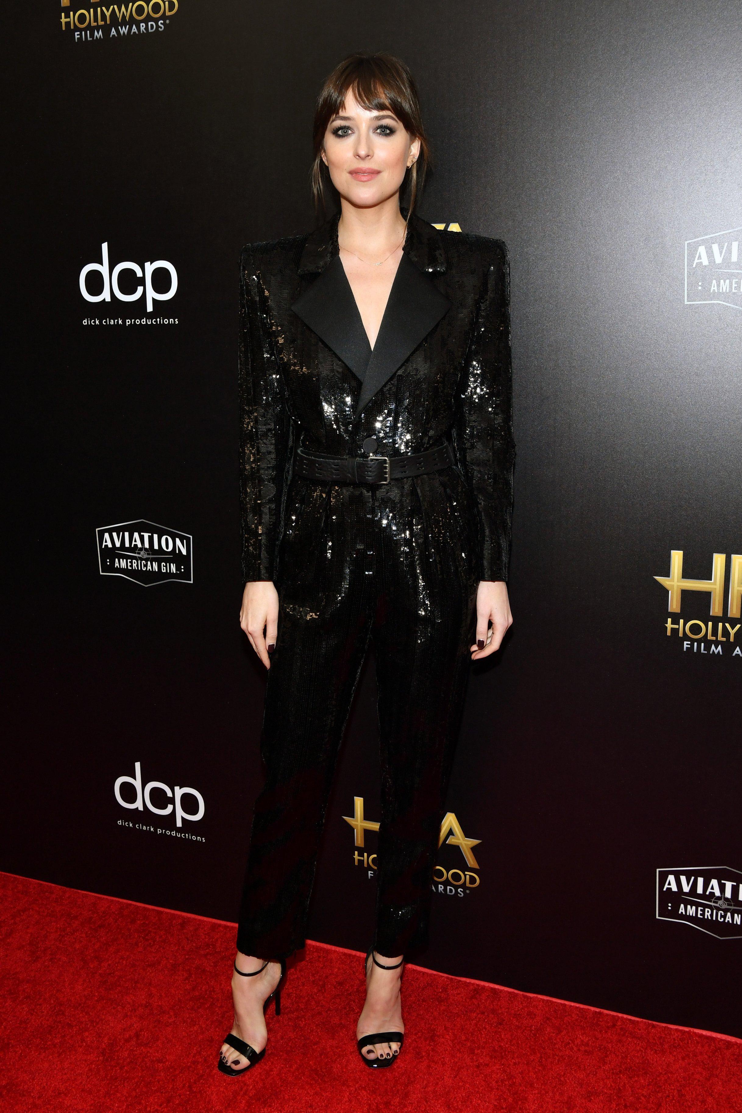 Dakota Johnson wearing Saint Laurent - About Her