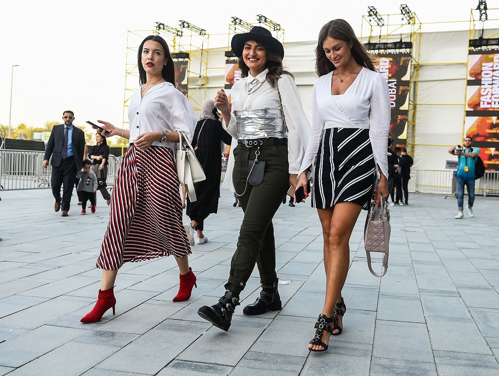 Zoom In The Best Fashion Forward Dubai Street Style About Her