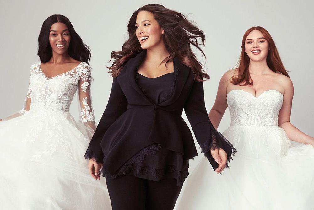 Ashley Graham S Latest Venture A Plus Sized Wedding Dress