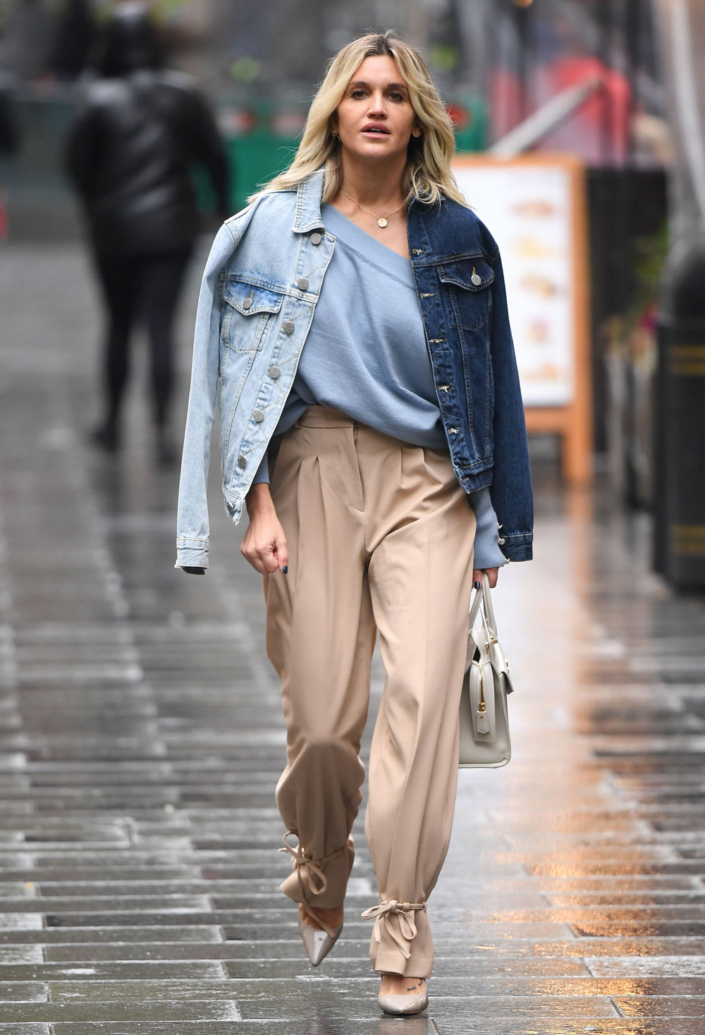 Ashley Roberts Out And About In London About Her