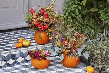 Diy Autumn Flower Arrangements About Her