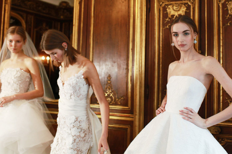 Middle Eastern Designers Reign At New York Bridal Fashion Week