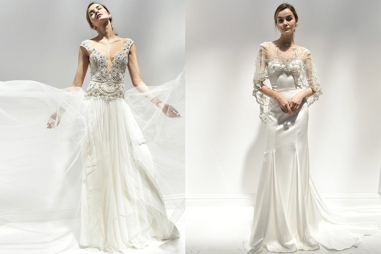 Middle Eastern Designers Reign at New York Bridal Fashion Week ...